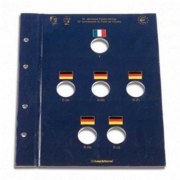 Münzblatt Vista für 2-Euro-Münzen, Élysee-Vertrag, Leuchtturm 344137