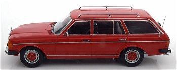 Modellauto:Mercedes-Benz 250 T-Modell (S 123) von 1980, rot(KK Scale, 1:18)