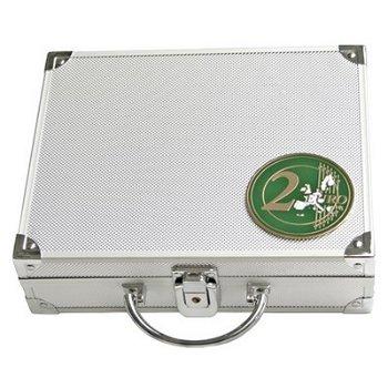 SAFE - Münzenkoffer für 2-Euro-Münzen in Kapseln, inkl. 6 Tableaus, Safe 172