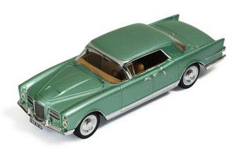 Modellauto:Facel Vega Excellence von 1960, grün-metallic(IXO Museum, 1:43)
