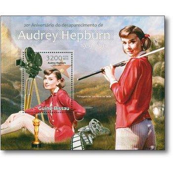 Audrey Hepburn - Briefmarken-Block postfrisch, Guinea-Bissau