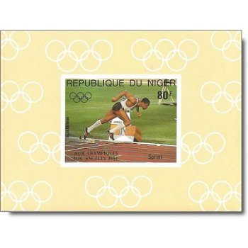 Olympische Sommerspiele 1984 - 5 Luxusblocks postfrisch, Katalog-Nr. 876-880, Niger