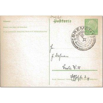"""2800 Bremen - Ganzsache """"Werbeschau der Briefmarkensammler"""""""