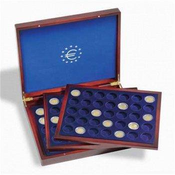 Münzkassette Volterra Trio de Luxe für 105 2-Euro-Münzen in Kapseln, Leuchtturm 303369