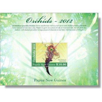 Orchideen - Briefmarken-Block postfrisch, Katalog-Nr. 1823 Bl. 154, Papua-Neuguinea