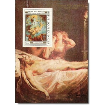 Peter Paul Rubens - 5 Luxusblocks postfrisch, Katalog-Nr. 607-611, Niger