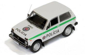 Modellauto:Lada Niva (VAZ 2121) von 1993- Slovak Republik Police -(IST Models, 1:43)