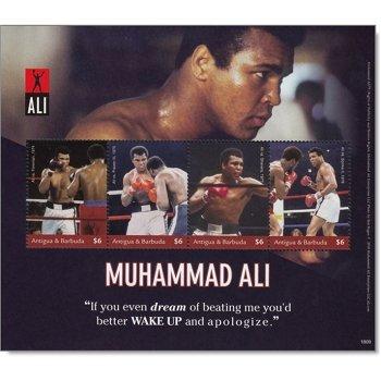 Muhammed Ali - Block postfrisch, Antigua Barbuda