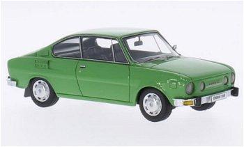 Modellauto:Skoda 110 R Coupé von 1972, grün(NEO, 1:43)
