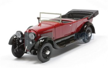 Modellauto:Mercedes 11/40 von 1924, rot-schwarz(Rio, 1:43)