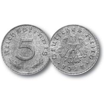 5 Reichspfennig, Münze Alliierte Besetzung