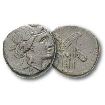 Dionysos, Bronzemünze, Pantikapaion