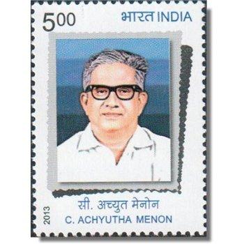 100. Geburtstag von Achyutha Menon - Briefmarke postfrisch, Katalog-Nr. 2698, Indien