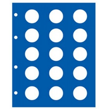 """SAFE - neutrales Ergänzungsblatt für TOPset-Münzalbum """"2€ ohne Kapseln"""", Safe 7854"""