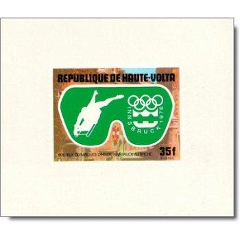 Olympische Winterspiele 1976 - 5 Luxusblocks postfrisch, Katalog-Nr. 603-607, Obervolta