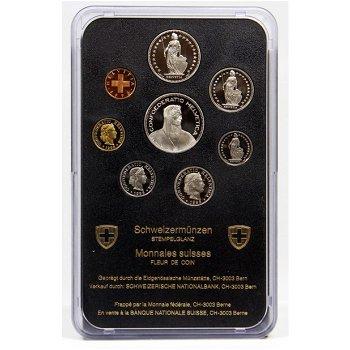 Kursmünzensatz 1996 - Schweiz, Stempelglanz