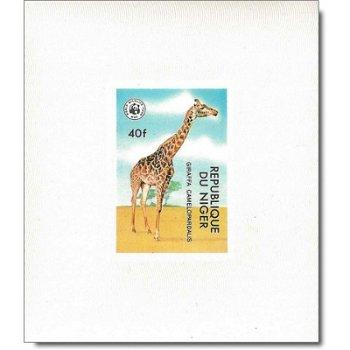 """Weltweiter Naturschutz """"Bedrohte Tiere"""" - 6 Luxusblocks postfrisch, Katalog-Nr. 633-638, N"""