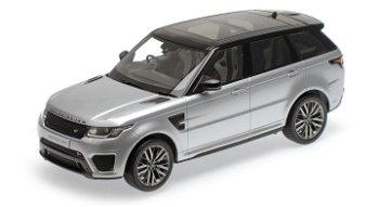 Modellauto:Land Rover - Range Rover Sport SVR, silber(Kyosho, 1:18)