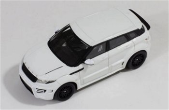 Modellauto:Range Rover Evoque 2012 by Onyx, weiß(Premium X, 1:43)