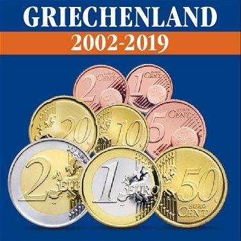 Griechenland – Kursmünzensätze alle Jahrgänge 2002-2019