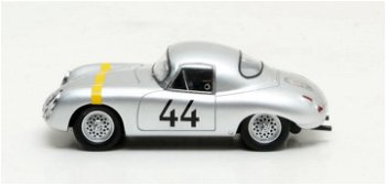 Modellauto:Porsche 356 - Glöckler - Special Roadster Weidenhausen # 44von 1952, silber(Matrix, 1:43)