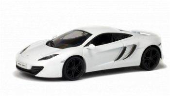 Modellauto:McLaren MP4 - 12C, weiß(Solido, 1:43)