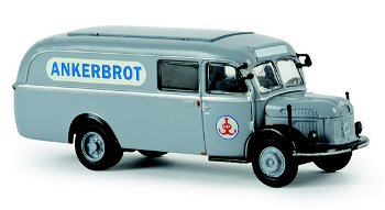 Modell-LKW:Steyr 380/I - Ankerbrot -(Brekina, 1:87)