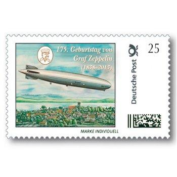 175. Geburtstag von Graf Zeppelin - Marke Individuell, postfrisch