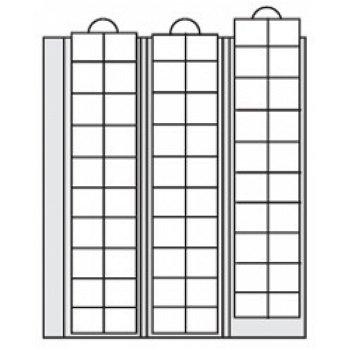 SAFE - Ergänzungsblätter für Münzen bis 20 mm Durchmesser 2er-Pack, Safe 7394