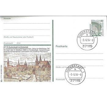 """3408 Duderstadt - Bildpostkarte """"Duderstadt im Eichsfeld"""""""