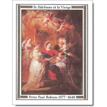400. Geburtstag von Peter Paul Rubens - Briefmarken-Block ungezähnt postfrisch, Katalog-Nr. 612 Bl.