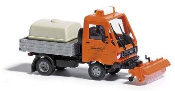 Modell:Multicar mit Kehrmaschine- Straßenmeisterei -(Busch, 1:87)