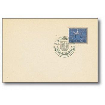 70 Jahre Deutsches Derby - Ersttagsbrief, Katalog-Nr. 698, Deutschland
