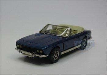 Modellauto:Jensen Interceptor Cabriolet von 1969-1976, blau(Enco, 1:43)