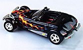 Modellauto:Plymouth Prowler - Flammen Lackierung -(Eagle´s Race, 1:43)