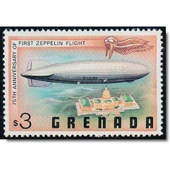 75. Jahrestag des 1. Zeppelinfluges - Briefmarke postfrisch, Katalog-Nr. 878, Grenada