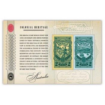 Koloniales Erbe – Briefmarken-Block postfrisch, Katalog-Nr. 3754 II B-3755 II B, Block 146 II, Austr