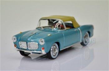 Modellauto:Fiat 1100 TV von 1956, blau-metallic(Starline Models, 1:43)