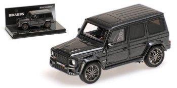 Modellauto:Mercedes-Benz Brabus G V12 800, grau(Minichamps, 1:43)