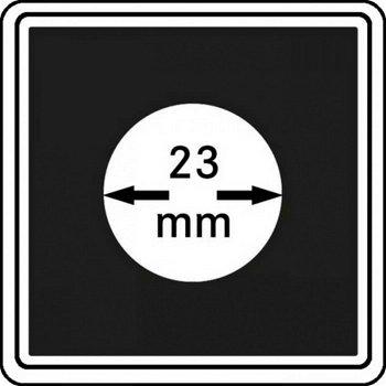 Münzkapseln CARRÉE 23 mm, 4er Pack, LI 2240023