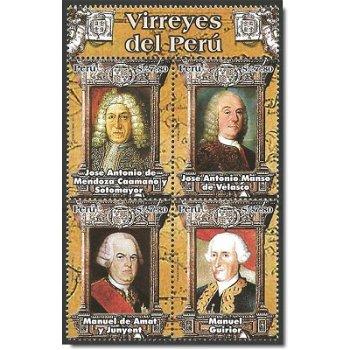 Spanische Vizekönige von Peru – Briefmarken postfrisch, Peru