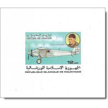 Geschichte der Luftfahrt - 5 Luxusblocks postfrisch, Katalog-Nr. 576-580, Mauretanien