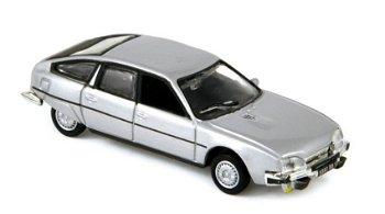 Modellauto:Citroen CX 2400 GTI von 1977, silber(Norev, 1:87)