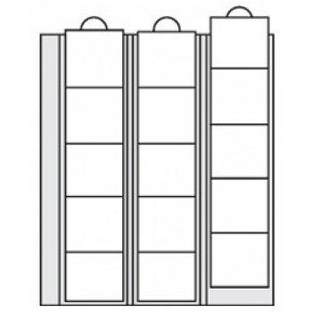 SAFE - Ergänzungsblätter für Münzen bis 44 mm Durchmesser 2er-Pack, Safe 7391