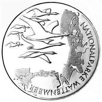Nationalpark Wattenmeer, 10-Euro-Silbermünze 2004, Stempelglanz