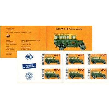 Postfahrzeuge - Briefmarkenheftchen postfrisch, Slowakei