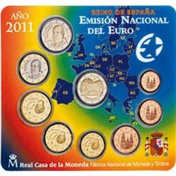 Kursmünzensatz 2011, Alhambra von Granada - Spanien