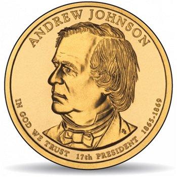 Andrew Johnson, Präsidentendollar 2011, USA