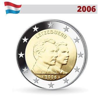 2 Euro Münze 2006, Erbgroßherzog Guillaume, Luxemburg