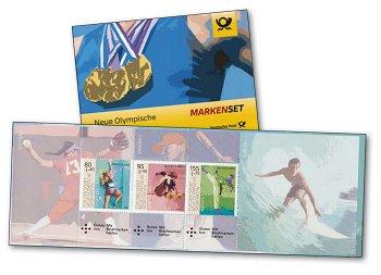 Für den Sport 2020 - Markenheftchen postfrisch, Deutschland